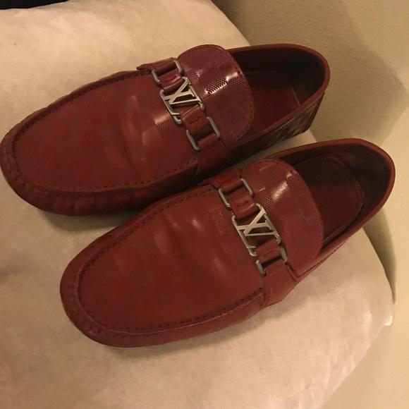 b03f8987f661 Louis Vuitton Shoes - Men Louis Vuitton loafers(used)